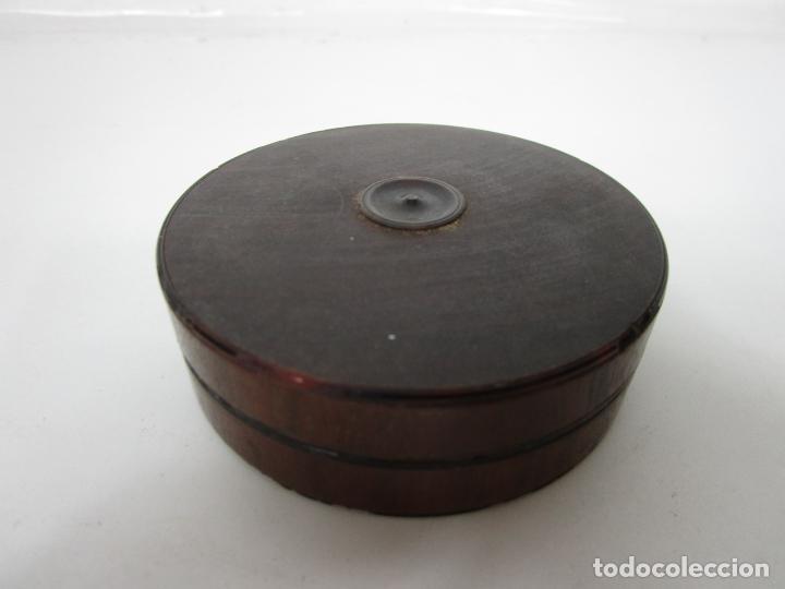 Antigüedades: Antigua Caja de Rape - Carey - S. XVIII-XIX - Foto 2 - 194406025
