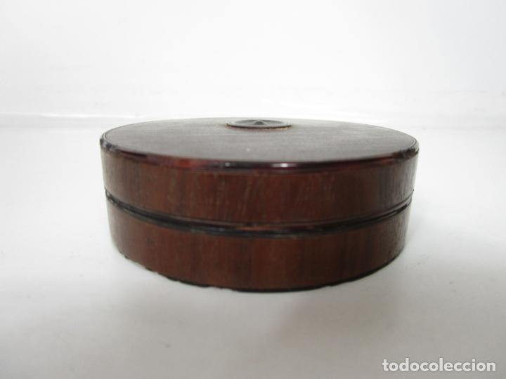 ANTIGUA CAJA DE RAPE - CAREY - S. XVIII-XIX (Antigüedades - Hogar y Decoración - Cajas Antiguas)