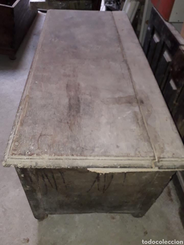 Antigüedades: Arcas vasco navarras siglo XVII - Foto 3 - 194406318