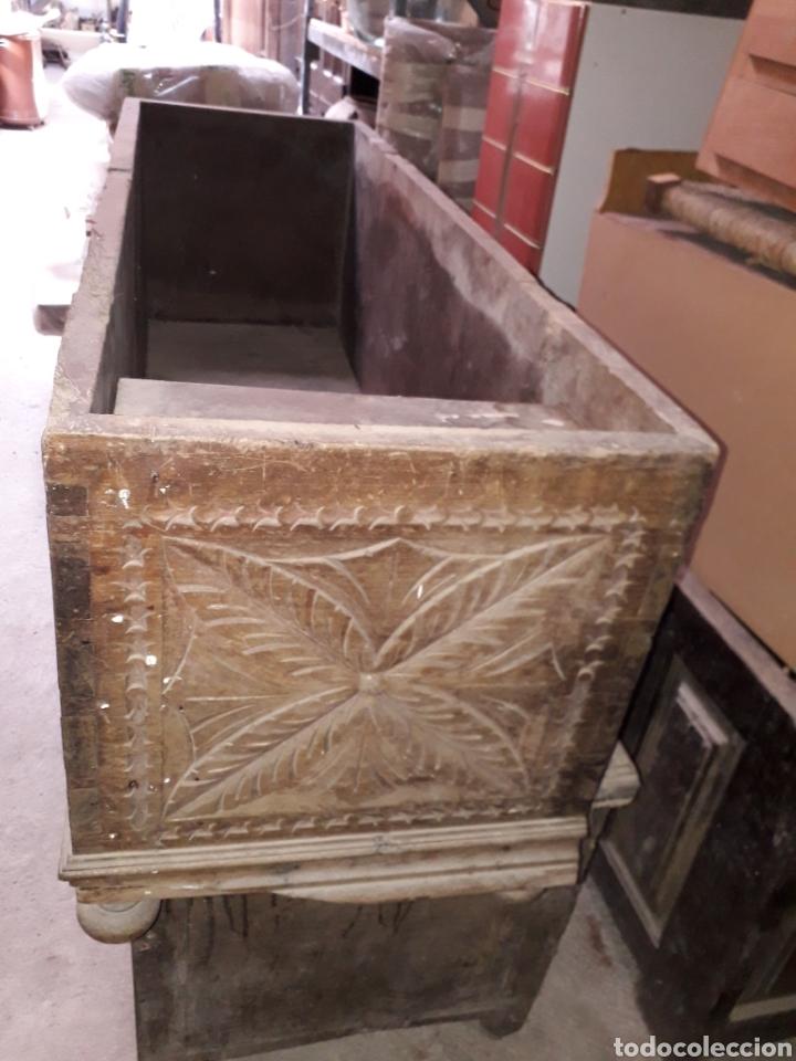 Antigüedades: Arcas vasco navarras siglo XVII - Foto 6 - 194406318