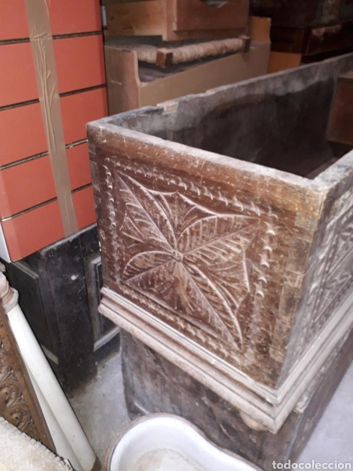 Antigüedades: Arcas vasco navarras siglo XVII - Foto 8 - 194406318