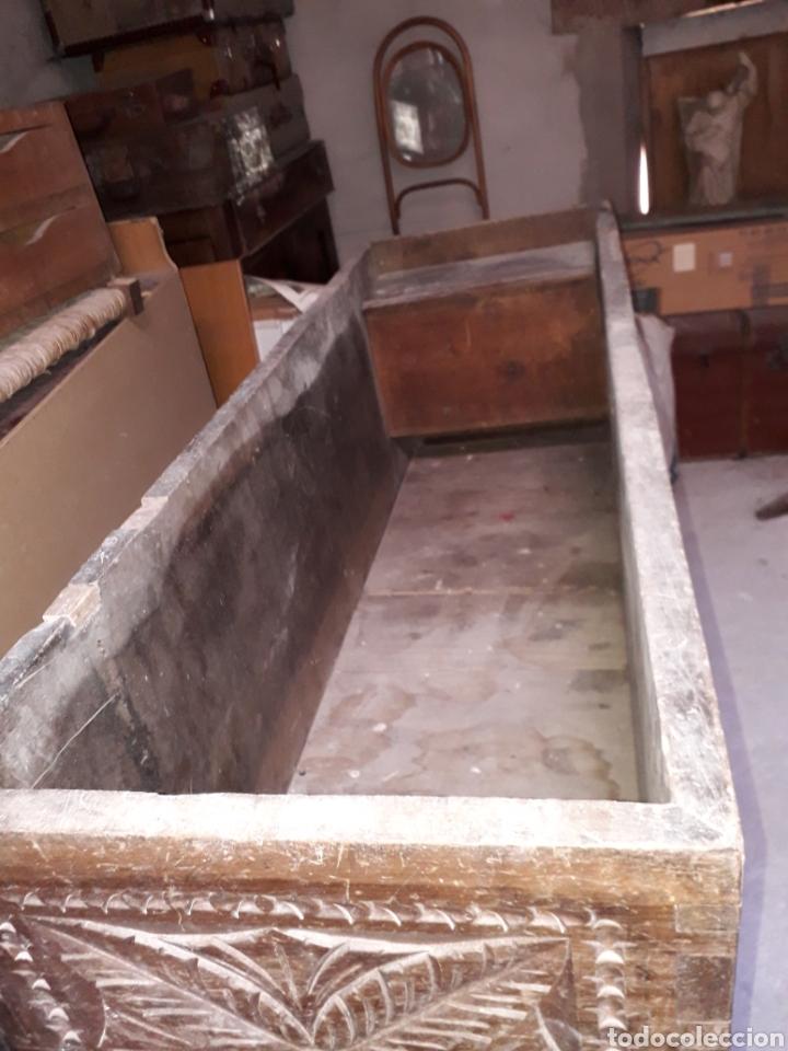 Antigüedades: Arcas vasco navarras siglo XVII - Foto 9 - 194406318