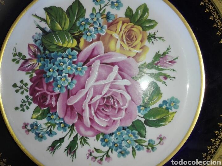 Antigüedades: 2 Platos de porcelana. - Foto 5 - 194172062