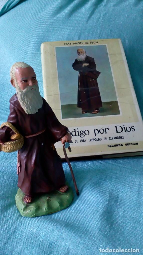 Antigüedades: FRAY LEOPOLDO DE ALPANDEIRE...LIBRO Y FIGURA - Foto 5 - 194408166