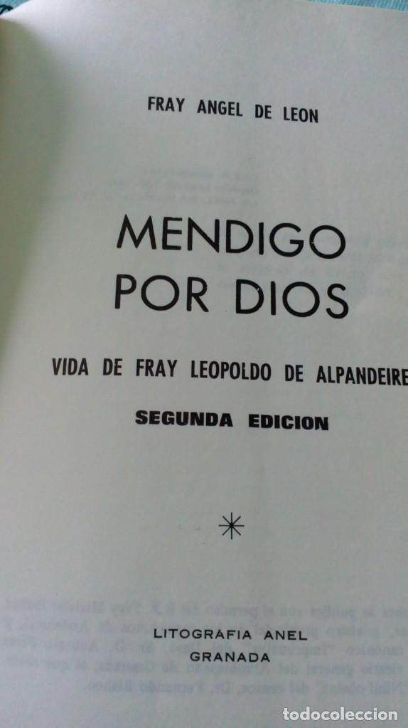 Antigüedades: FRAY LEOPOLDO DE ALPANDEIRE...LIBRO Y FIGURA - Foto 11 - 194408166