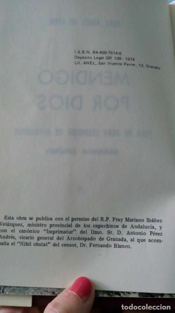 Antigüedades: FRAY LEOPOLDO DE ALPANDEIRE...LIBRO Y FIGURA - Foto 12 - 194408166