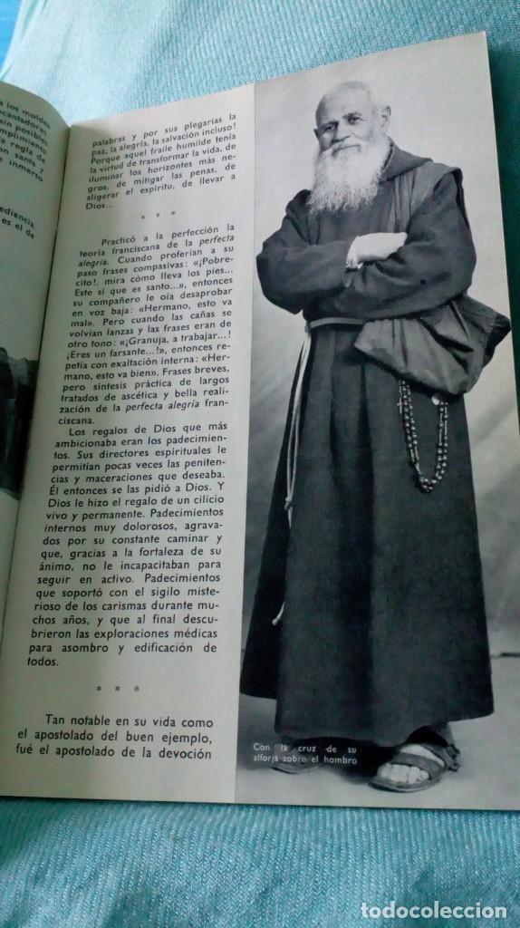 Antigüedades: FRAY LEOPOLDO DE ALPANDEIRE...LIBRO Y FIGURA - Foto 19 - 194408166