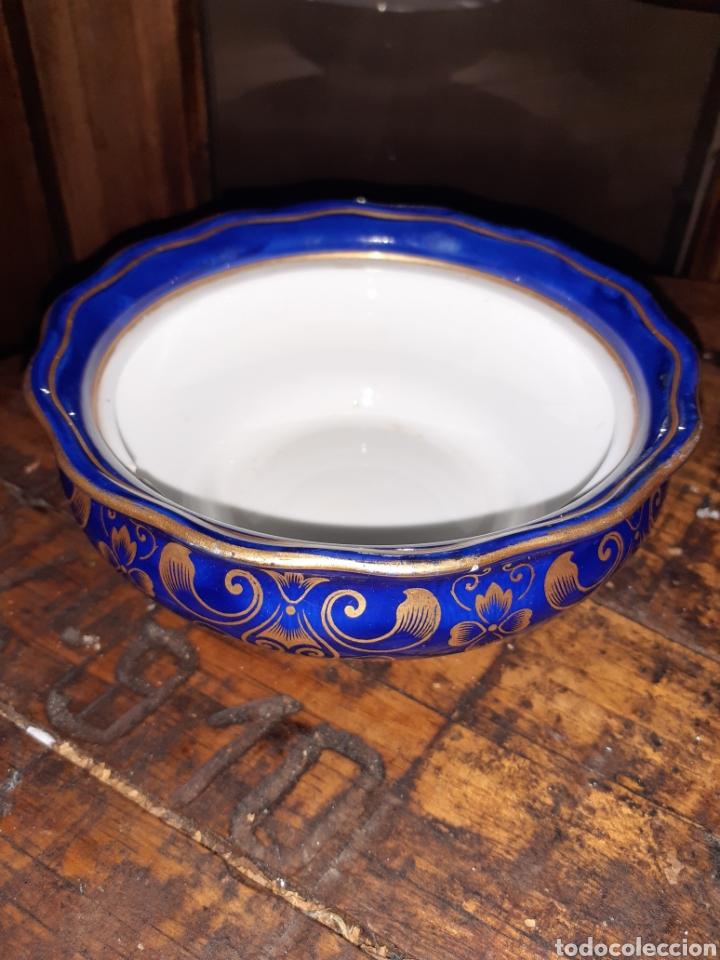 AZUCARERO MADE ENGLAND CAULION (Antigüedades - Porcelanas y Cerámicas - Inglesa, Bristol y Otros)
