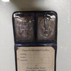Antigüedades: CARTA DE IDENTIDAD CATÓLICA.. Lote 194490668