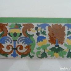 Antigüedades: ANTIGUO AZULEJO, ANTONIO VADILLO PLATA. SEVILLA. . Lote 194501095