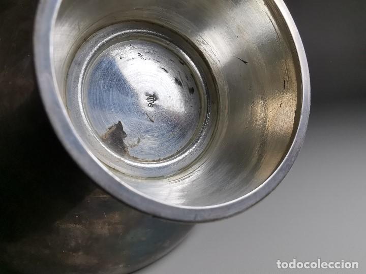 Antigüedades: bonito candelabro candelero palmatoria diseño- Alerium Plaque PC--- España - Años 50-60 - Foto 20 - 194512455