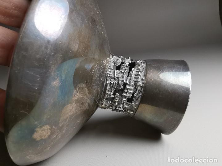 Antigüedades: bonito candelabro candelero palmatoria diseño- Alerium Plaque PC--- España - Años 50-60 - Foto 23 - 194512455