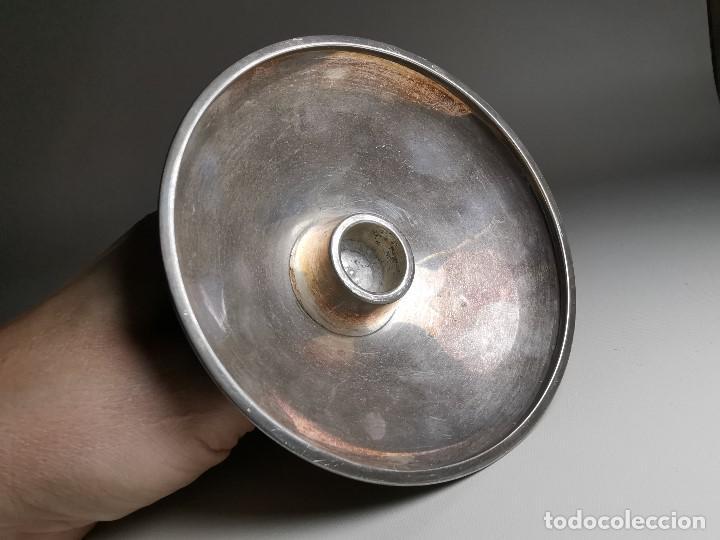 Antigüedades: bonito candelabro candelero palmatoria diseño- Alerium Plaque PC--- España - Años 50-60 - Foto 24 - 194512455