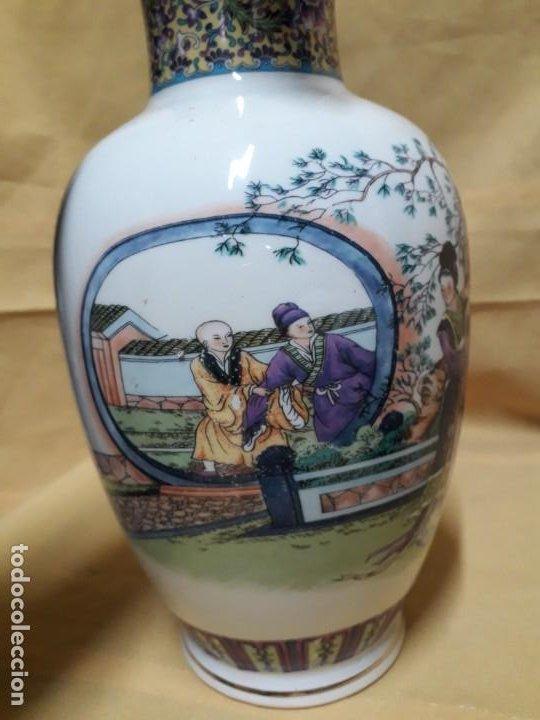 Antigüedades: Jarrón con motivos japoneses - Foto 4 - 194515072