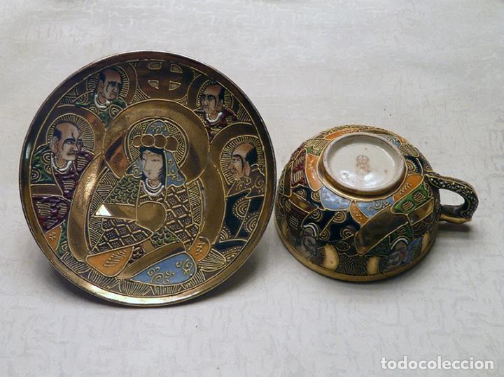 Antigüedades: Juego de té japonés - Foto 3 - 194515663