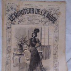 Antigüedades: LE MONITEUR DE LA MODE. Lote 194515811
