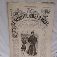 Antigüedades: LE MONITEUR DE LA MODE. Lote 194517481