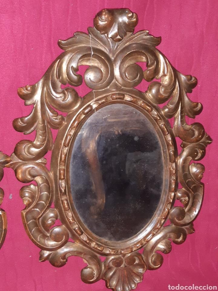 Antigüedades: ESPEJO DE MADERA - Foto 3 - 194518236