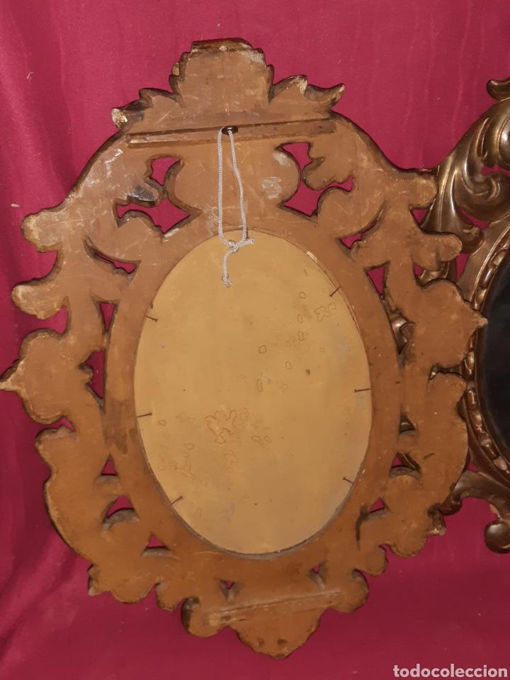 Antigüedades: ESPEJO DE MADERA - Foto 4 - 194518236