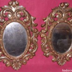 Antigüedades: ESPEJO DE MADERA. Lote 194518236