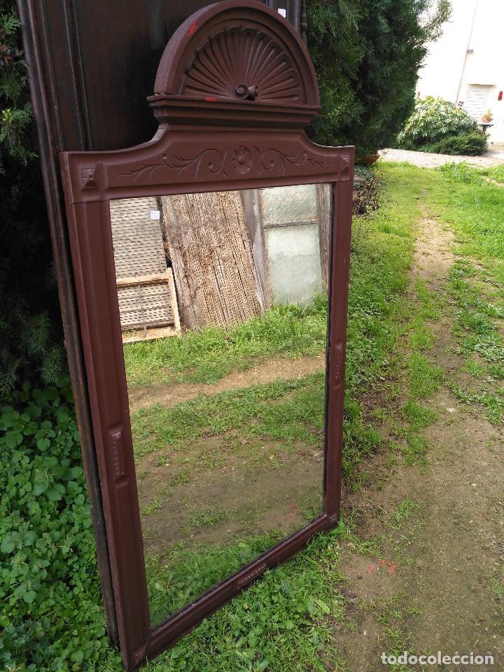 Antigüedades: Espejo alfonsin grande. - Foto 4 - 194525393
