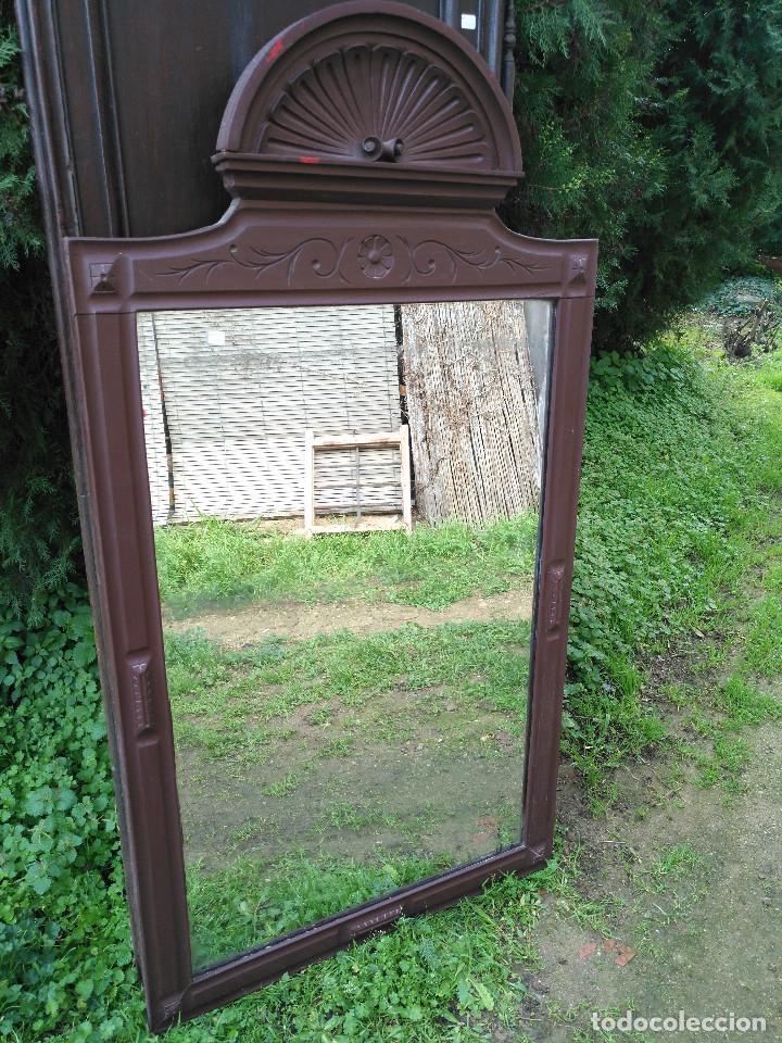 Antigüedades: Espejo alfonsin grande. - Foto 5 - 194525393