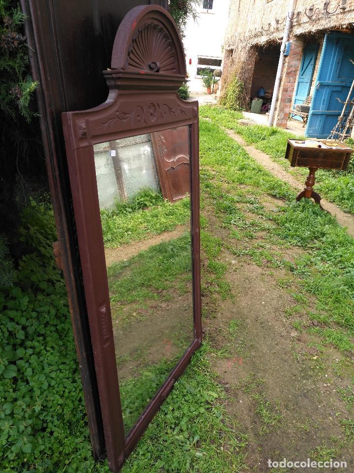 Antigüedades: Espejo alfonsin grande. - Foto 10 - 194525393