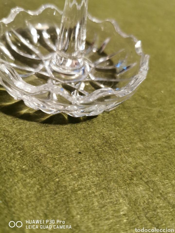 Antigüedades: cenicero de cristal - Foto 2 - 194526307