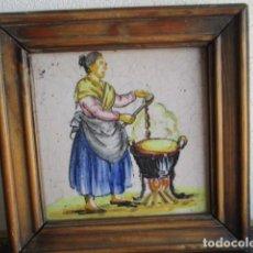 Antigüedades: AZULEJO ANTIGUO DE OFICIO. Lote 194528026