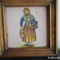 Antigüedades: AZULEJO ANTIGUO DE OFICIO. Lote 194528121