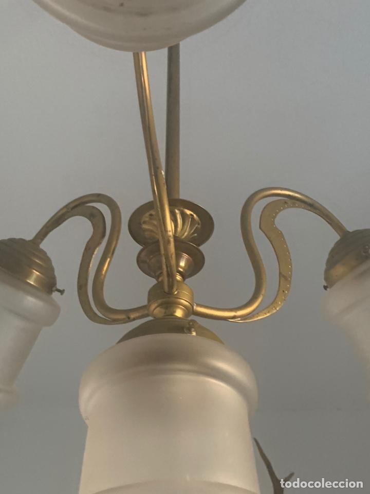 Antigüedades: LAMPARA MODERNISTA - Foto 2 - 194530281