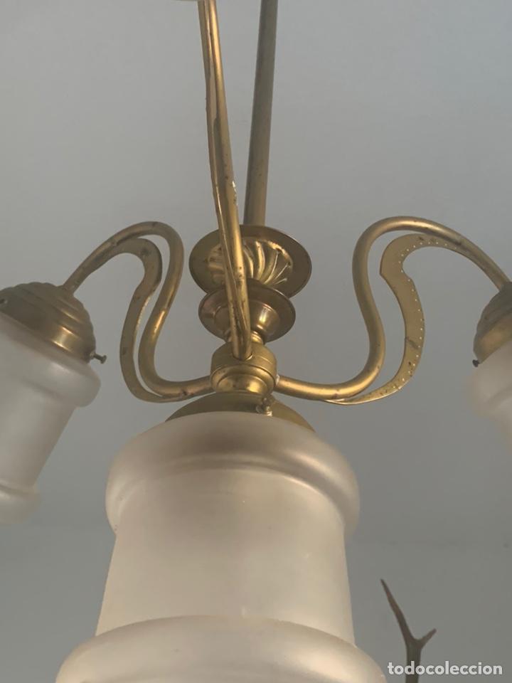 Antigüedades: LAMPARA MODERNISTA - Foto 5 - 194530281