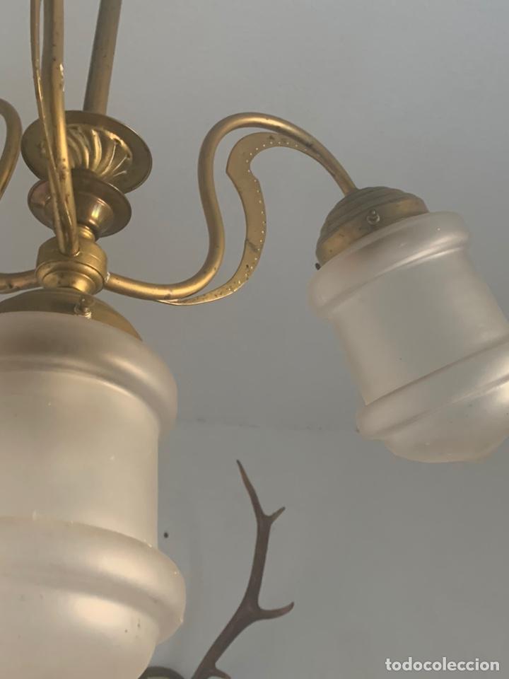 Antigüedades: LAMPARA MODERNISTA - Foto 6 - 194530281