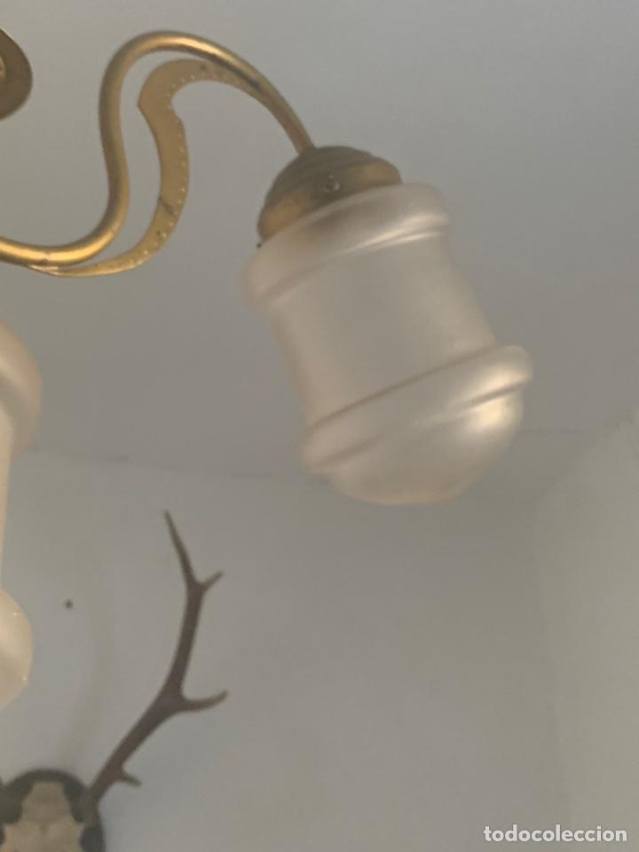 Antigüedades: LAMPARA MODERNISTA - Foto 7 - 194530281