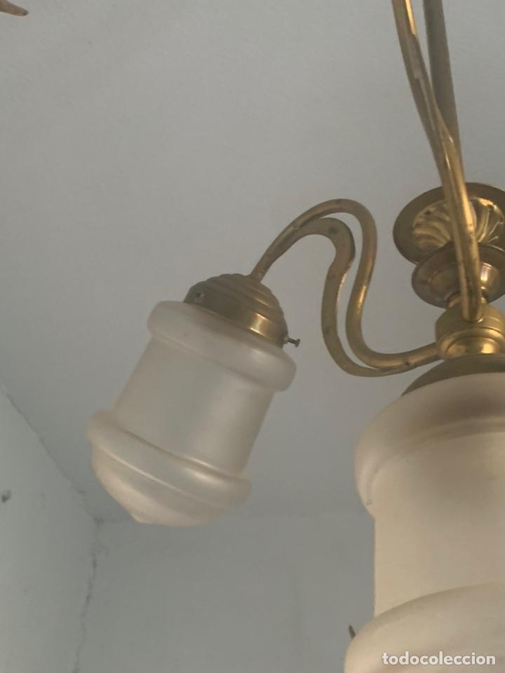 Antigüedades: LAMPARA MODERNISTA - Foto 8 - 194530281