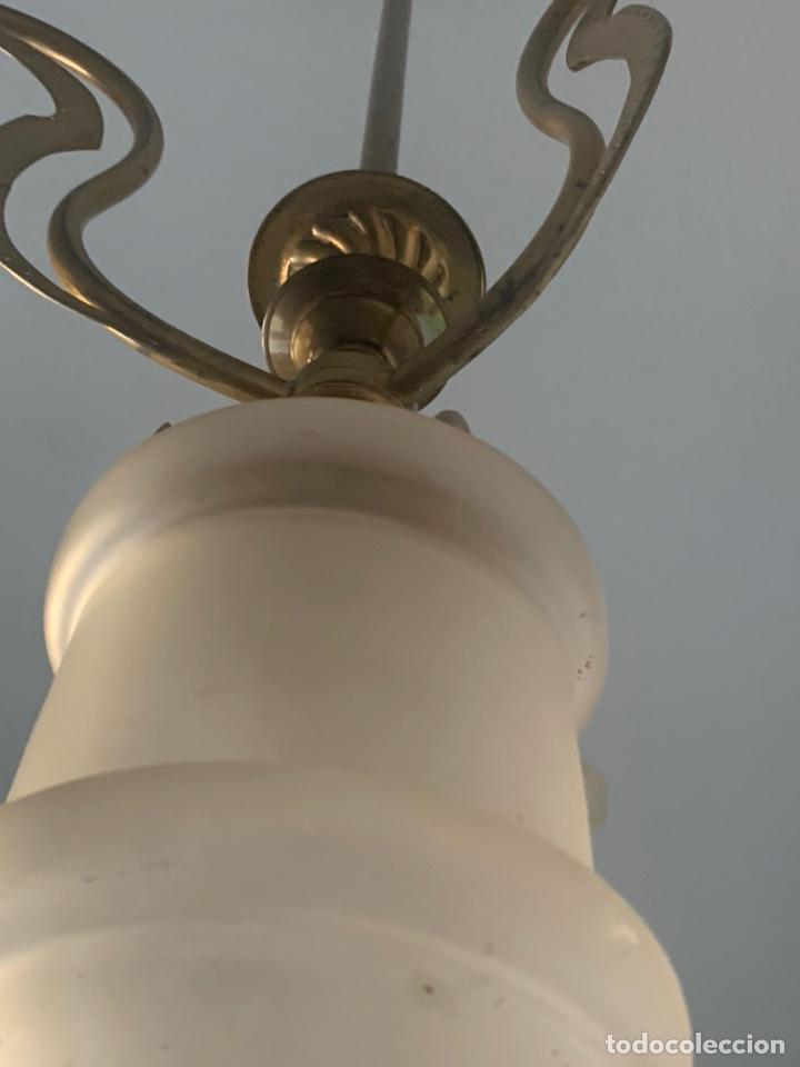 Antigüedades: LAMPARA MODERNISTA - Foto 9 - 194530281