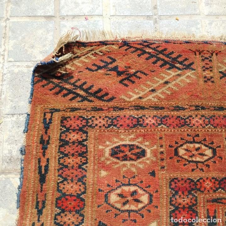 Antigüedades: ALFOMBRA TEKKE. LANA ANUDADA A MANO. TEKKE. TURKMENISTAN. SIGLO XIX-XX - Foto 18 - 164711126