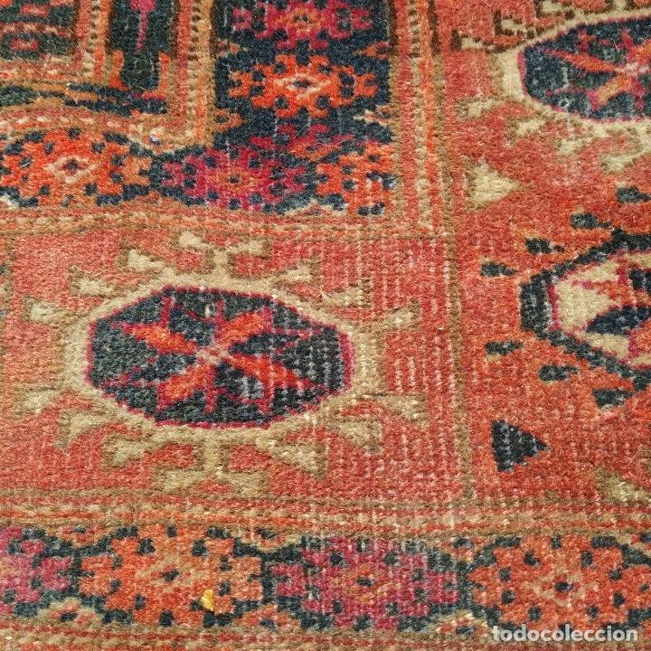 Antigüedades: ALFOMBRA TEKKE. LANA ANUDADA A MANO. TEKKE. TURKMENISTAN. SIGLO XIX-XX - Foto 20 - 164711126