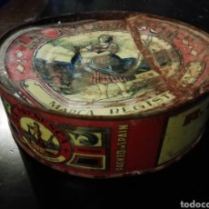 Antigüedades: ANTIGUA LATA BONITO ESCABECHE LA ARENESCA R. GONZÁLEZ SAN JUAN DE LA ARENA, PUERTO DE VEGA AST. Lote 194532621