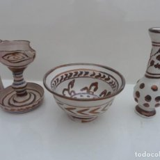 Antigüedades: CERÁMICA ÁRABE CON REFLEJOS. Lote 194532693