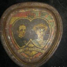Antigüedades: CAJA 1906 ALFONSO XIII Y VICTORIA EUGENIA. Lote 194537602