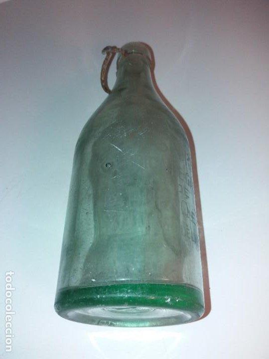 Antigüedades: CURIOSA BOTELLA DE GASEOSA LA SIN RIVAL FABRICA en PUEBLO DE SALAMANCA AÑOS 60´s - Foto 6 - 194541156