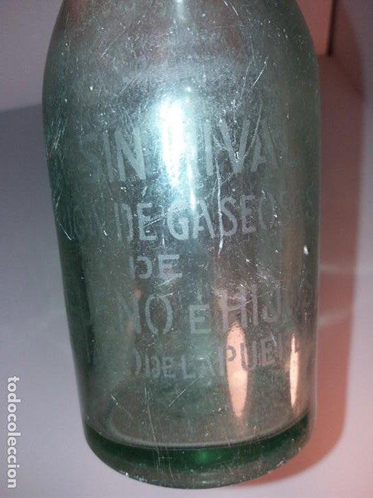 Antigüedades: CURIOSA BOTELLA DE GASEOSA LA SIN RIVAL FABRICA en PUEBLO DE SALAMANCA AÑOS 60´s - Foto 9 - 194541156