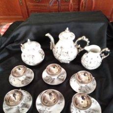 Antigüedades: JUEGO CAFE. Lote 194541602