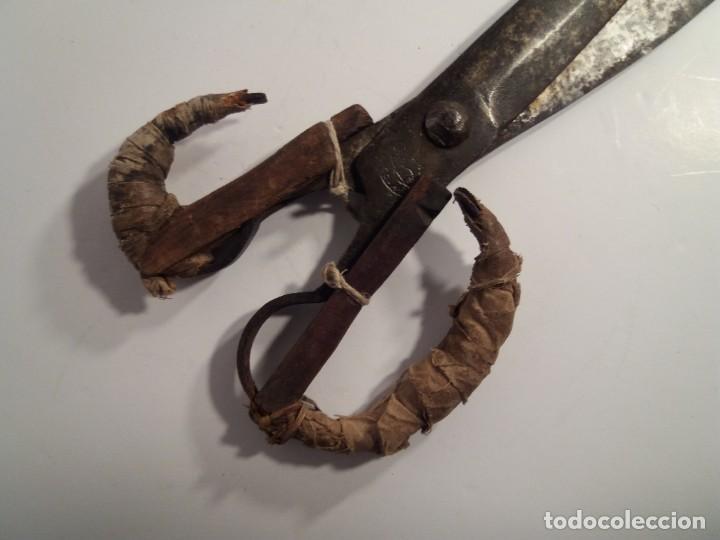 Antigüedades: ESPECTACULARES TIJERAS DE ESQUILAR OVEJAS AÑOS 60´s - Foto 2 - 194542365