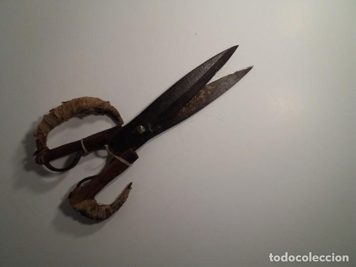 Antigüedades: ESPECTACULARES TIJERAS DE ESQUILAR OVEJAS AÑOS 60´s - Foto 4 - 194542365