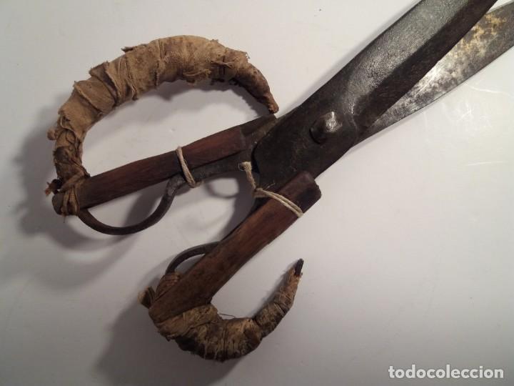 Antigüedades: ESPECTACULARES TIJERAS DE ESQUILAR OVEJAS AÑOS 60´s - Foto 5 - 194542365
