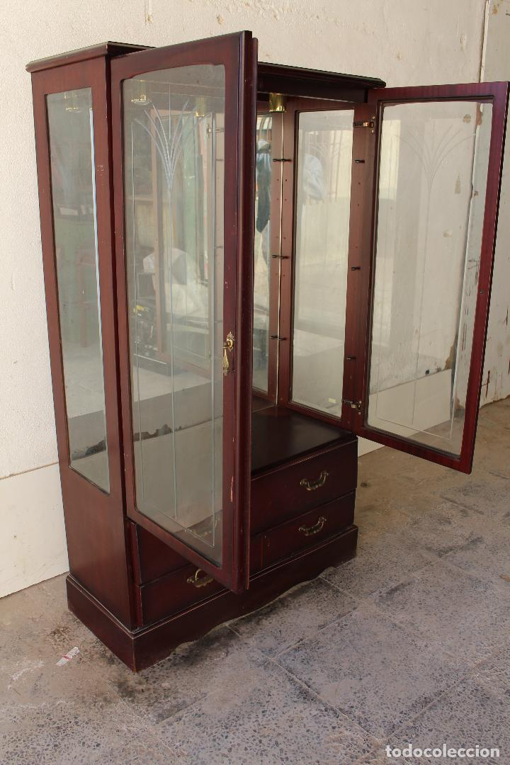Antigüedades: mueble vitrina john e. coyle ltd. - Foto 9 - 194549378