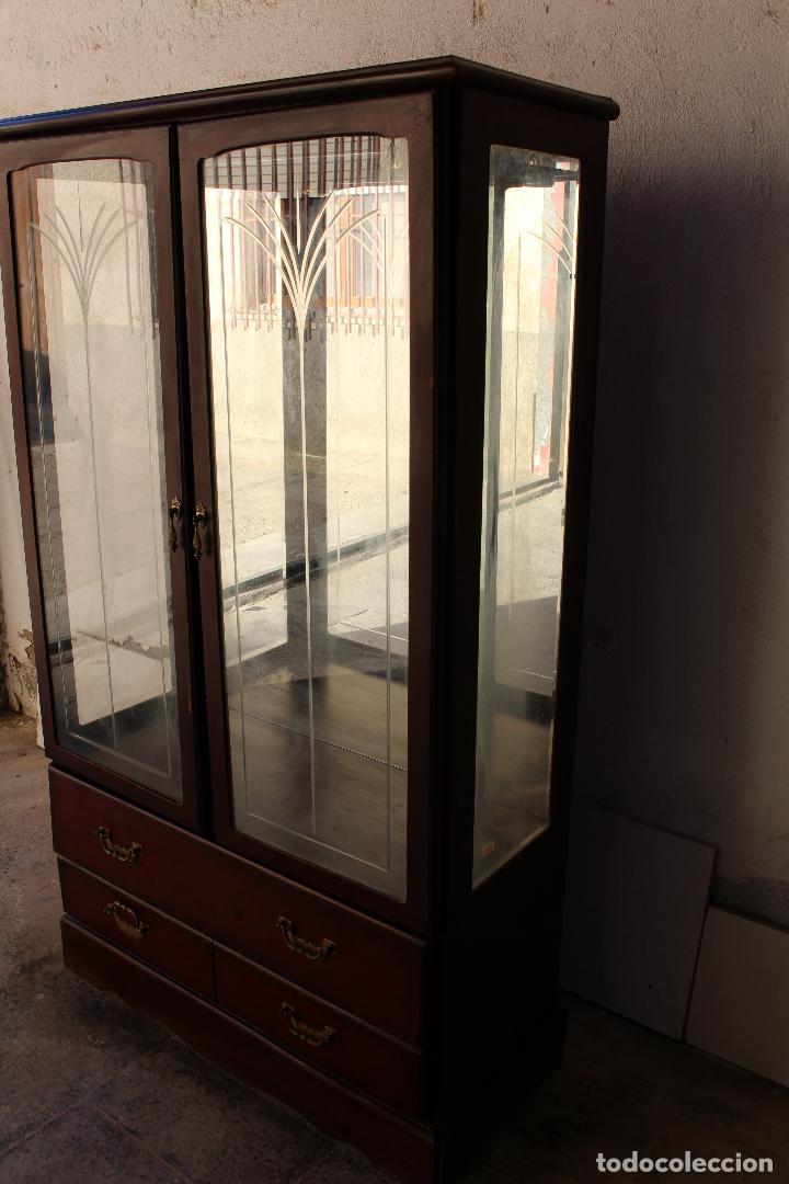 Antigüedades: mueble vitrina john e. coyle ltd. - Foto 11 - 194549378