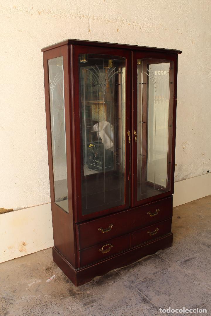 Antigüedades: mueble vitrina john e. coyle ltd. - Foto 12 - 194549378